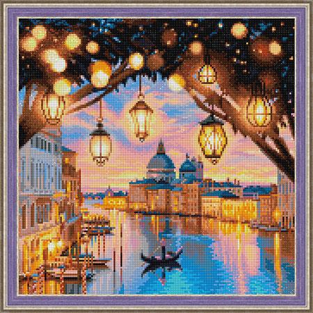Malen nach Zahlen Bild Venedig am Abend - AZ-1782 von Sonstiger Hersteller