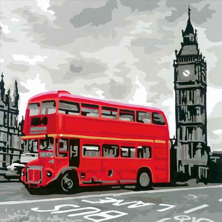 Malen nach Zahlen Bild London - 28460 von Ravensburger