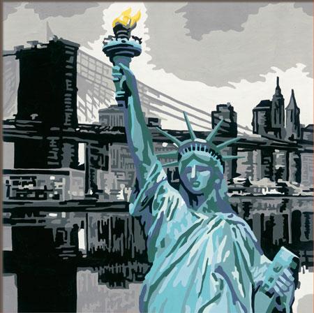Malen nach Zahlen Bild New York - 28461 von Ravensburger
