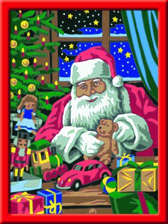Malen nach Zahlen Bild In der Weihnachtswerkstatt - 28488 von Ravensburger