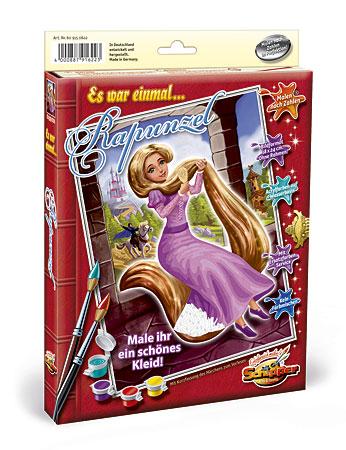 Malen nach Zahlen Bild Rapunzel - 609150622 von Schipper