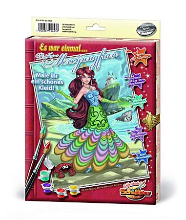 Malen nach Zahlen Bild Die kleine Meerjungfrau - 609150653 von Schipper