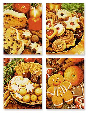 Malen nach Zahlen Bild Weihnachtsbäckerei - 609340702 von Schipper