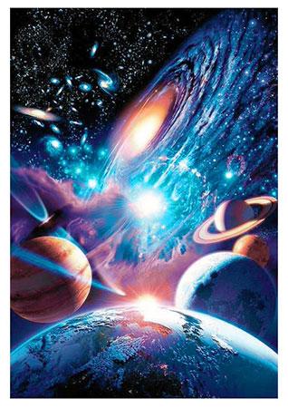 Malen nach Zahlen Bild Unendliches Universum - WD2393 von Sonstiger Hersteller