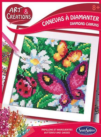 Malen nach Zahlen Bild Blumen und Schmetterlinge - 3902026 von Sonstige