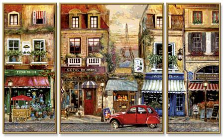 Malen nach Zahlen Bild Paris Nostalgie - 609260626 von Schipper