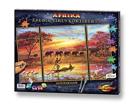Malen nach Zahlen Bild Afrika - Zauber eines Kontinents - 609260627 von Schipper