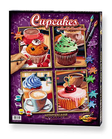 Malen nach Zahlen Bild Cupcakes - 609340629 von Schipper