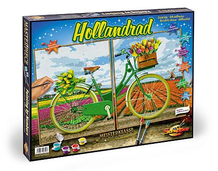Malen nach Zahlen Bild Hollandrad - 609420692 von Schipper