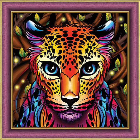 Regenbogen-Leopard