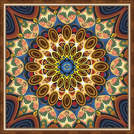 Mandala des Wohlbefindens