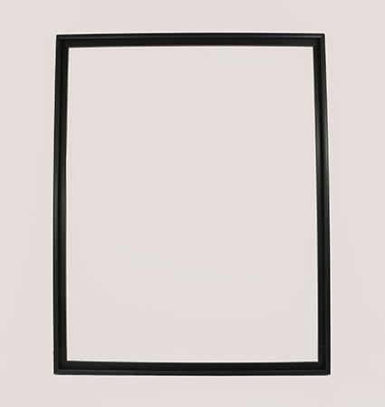 Schwarzer Aluminium-Rahmen 40 x 50 cm