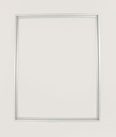 Silberner Aluminium-Rahmen 40 x 50 cm