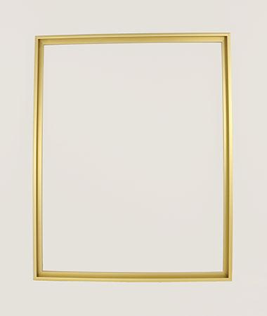 Goldener Aluminium-Rahmen 40 x 50 cm