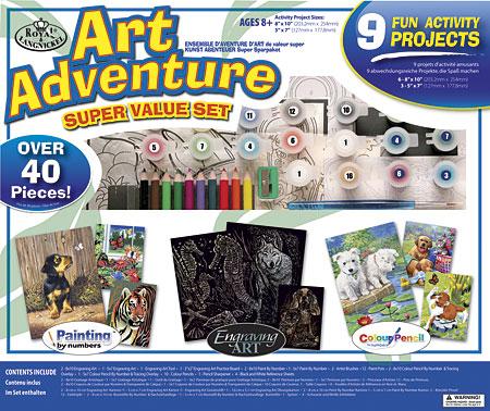 Malen nach Zahlen Bild Art Adventure Set 2 - AVS102 von Sonstiger Hersteller