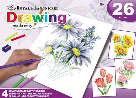 Malen nach Zahlen Bild Bunte Blumen - AVS-DME203 von Sonstiger Hersteller