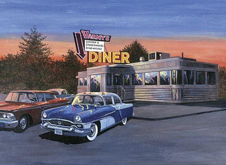 Malen nach Zahlen Bild Diner - PAL28 von Sonstiger Hersteller