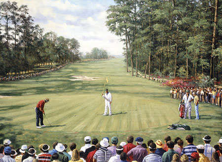 Malen nach Zahlen Bild Golfplatz - PAL29 von Sonstiger Hersteller