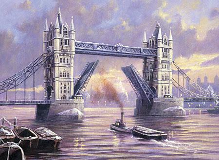 Malen nach Zahlen Bild Tower Bridge - PAL31 von Sonstiger Hersteller
