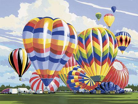 Malen nach Zahlen Bild Ballon - PAL5 von Sonstiger Hersteller