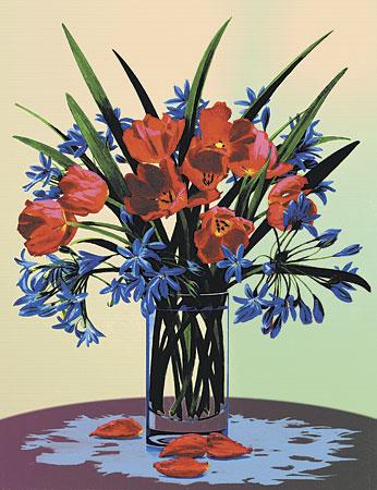 Malen nach Zahlen Bild Blumen - PCS2 von Sonstiger Hersteller