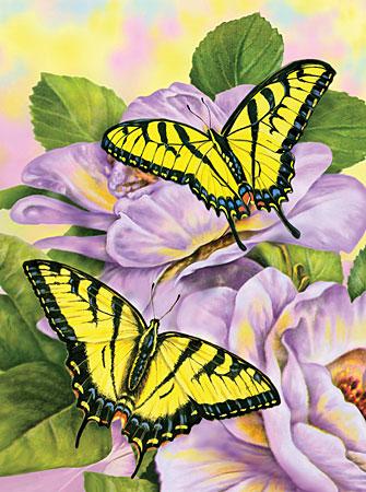 Malen nach Zahlen Bild Schwalbenschwanz-Schmetterling - PJS69 von Sonstiger Hersteller