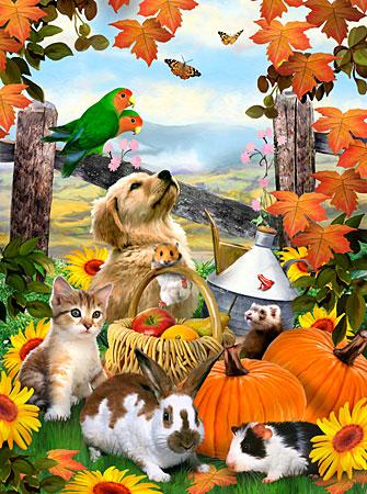 Malen nach Zahlen Bild Herbstfest - PJS79 von Sonstiger Hersteller