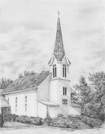 Malen nach Zahlen Bild Kirche - SKBN12 von Sonstiger Hersteller