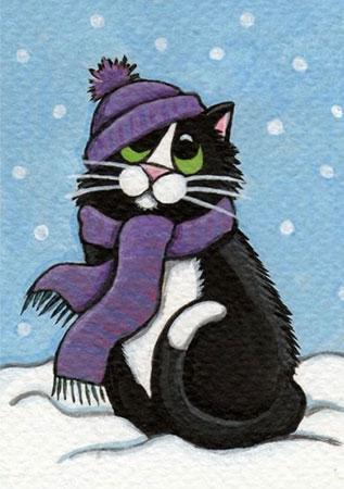 Winterkatze