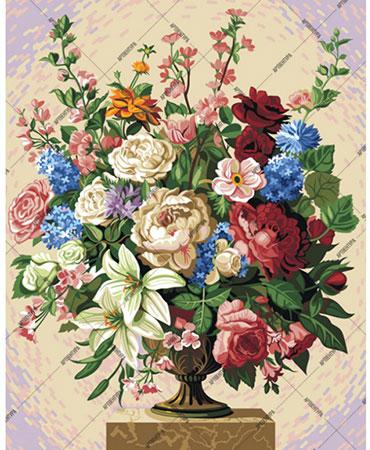 Malen nach Zahlen Bild Blumenstrauss - 01ART50400244 von Sonstiger Hersteller