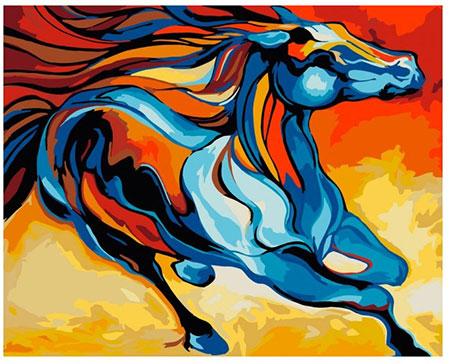 Märchenhaftes Pferd