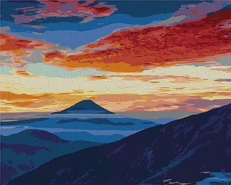 Malen nach Zahlen Bild Sonnenuntergang - 02ART40500329 von Sonstiger Hersteller