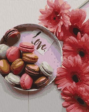 Malen nach Zahlen Bild Süße Geschenke - 02ART40500331 von Sonstiger Hersteller