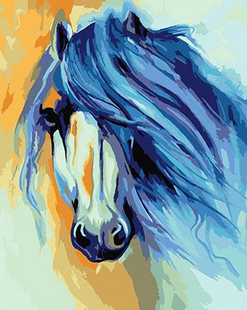 Malen nach Zahlen Bild Pferd, Baldwin - 02ART50400124 von Sonstiger Hersteller