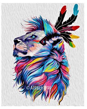 Zauberhafter Löwe