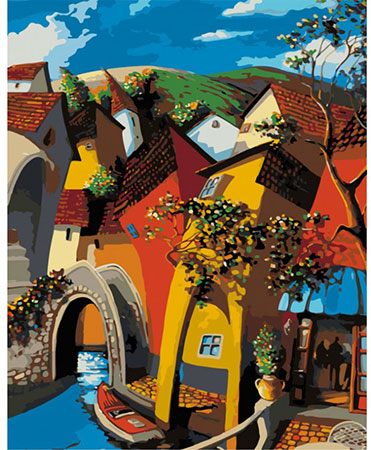 Malen nach Zahlen Bild Märchenhaftes Venedig - 03ART50400013 von Sonstiger Hersteller