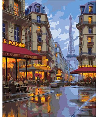 Malen nach Zahlen Bild Dämmerung in Paris - 03ART50400040 von Sonstiger Hersteller