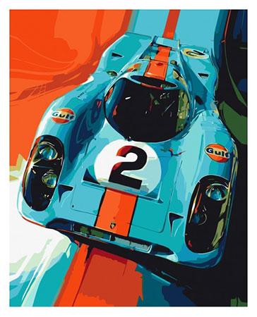 Malen nach Zahlen Bild Porsche 917 - 03ART50400041 von Sonstiger Hersteller