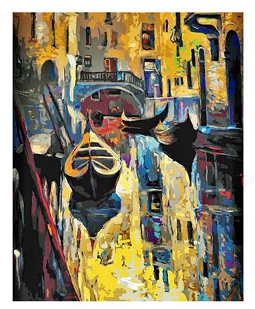Malen nach Zahlen Bild Altes Venedig - 03ART50400092 von Sonstiger Hersteller