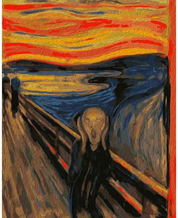 Der Schrei, Munch