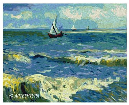 Malen nach Zahlen Bild Meerblick, van Gogh - 05ART40500168 von Sonstiger Hersteller