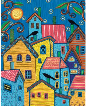 Malen nach Zahlen Bild Märchenhafte Häuser, Gerard - 05ART50400112 von Sonstiger Hersteller
