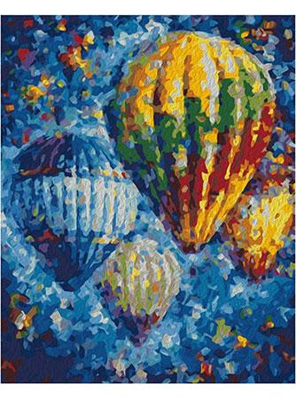 Malen nach Zahlen Bild Heißluftballone - 05ART50400153 von Sonstiger Hersteller