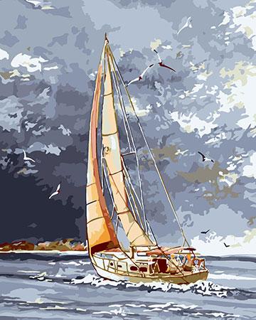 Günstiger Wind