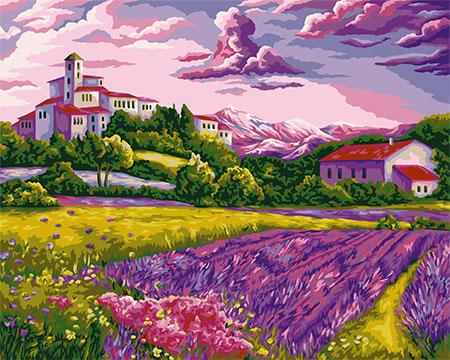 Warmer Abend in der Provence
