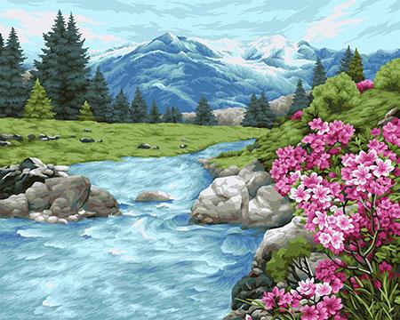 Frische des Altai-Gebirges