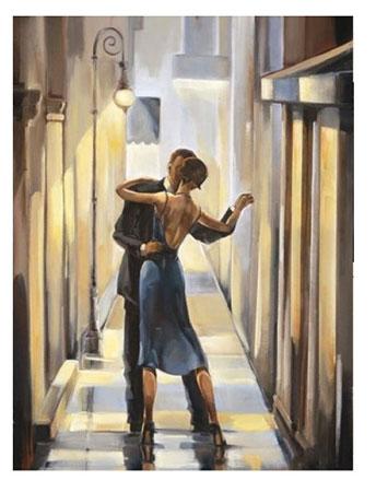 Tanzen auf der Straße