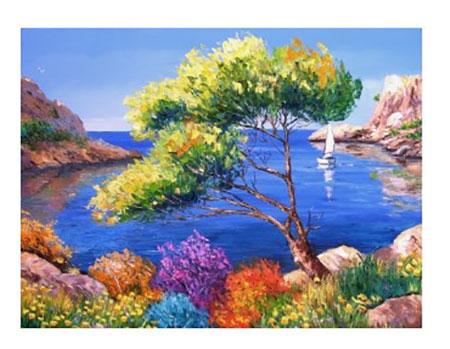 Paradiesische Lagune