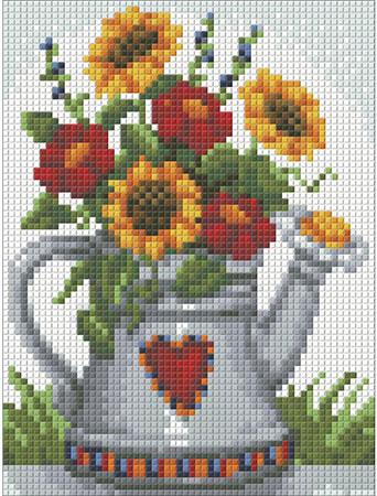 Malen nach Zahlen Bild Blumen in einer Kanne - AZ-1453 von Sonstiger Hersteller
