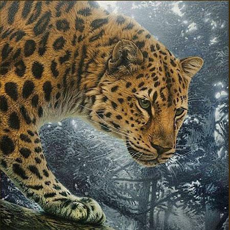 Malen nach Zahlen Bild Dschungel-Jäger - AZ-1519 von Sonstiger Hersteller